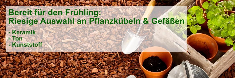 Pflanzkübel & Gartengestaltung