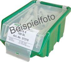 Universal-Kragendübel UKD 6x37 + Spanplattenschraube - 75+75 St./Ecobox