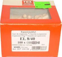 TOX Dübel EL 8/40 - 100 St. - 00710006