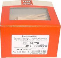 TOX Dübel EL 14/70 - 20 St. - 00710012