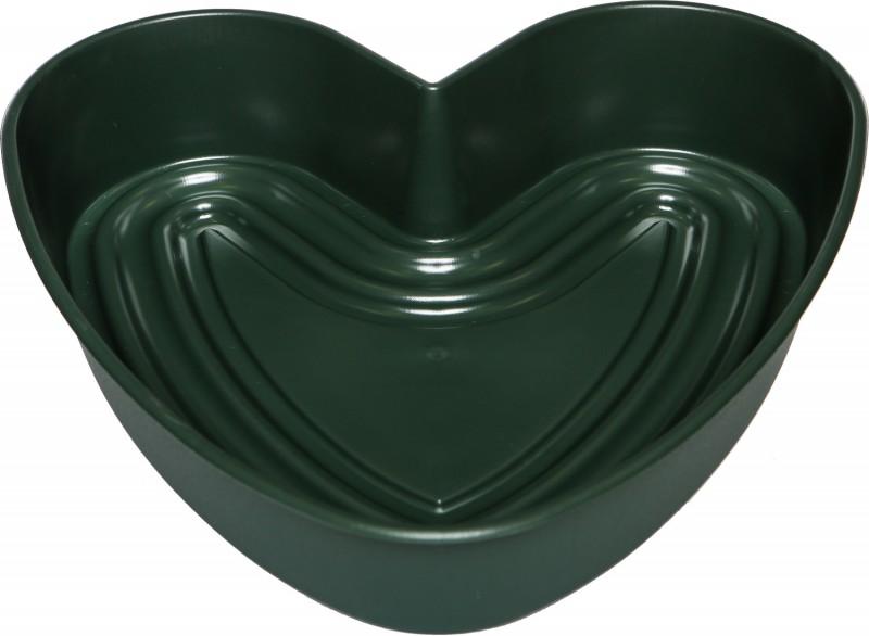 Pflanzherz Amora ø 36 cm grün