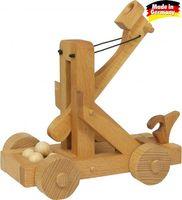 Holzspielzeug Katapult Steinschleuder für Ritterburg – Bild 1
