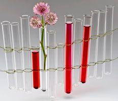 Reagenzglas klar