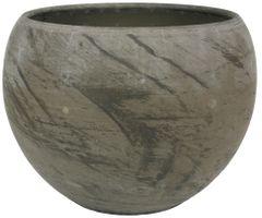 Kugeltopf Luna marmor – Bild 3