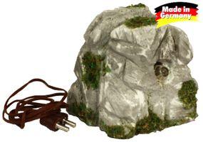 Krippenbeleuchtung - LED Tarnleuchte Granitfelsen für Krippen und Modellbau – Bild 1