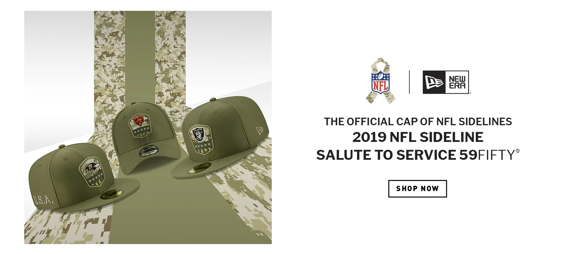 New Era NFL Salute to Service 2019 Knits & Caps