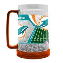 Duck House NFL MIAMI DOLPHINS Freezer Becher