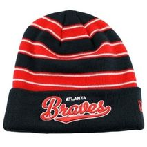 New Era MLB ATLANTA BRAVES Band Width (Wintermütze) Knit
