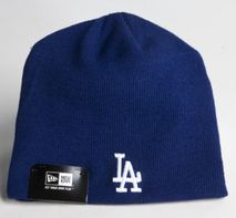 New Era MLB LOS ANGELES DODGERS LIC SKULL (Wintermütze) Knit