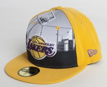 New Era NBA LOS ANGELES LAKERS Round Dway 59FIFTY Cap