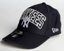 New Era MLB NEW YORK YANKEES Diamond Wordmark 39THIRTY Stretch Fit Cap