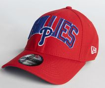 New Era MLB PHILADELPHIA PHILLIES Diamond Wordmark 39THIRTY Stretch Fit Cap