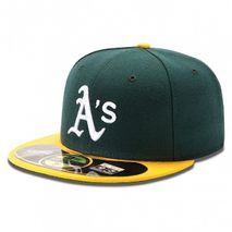 New Era MLB OAKLAND ATHLETICS Authentic On Field 59FIFTY Game Cap