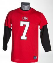 Majestic NFL COLIN KAEPERNICK #7 - San Francisco 49ers 3-in-1 Combo Player Set