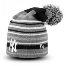New Era MLB NEW YORK YANKEES Long Stripe Out 2 (Wintermütze) Knit