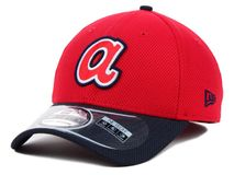 New Era MLB ATLANTA BRAVES Two Tone Diamond 39THIRTY Stretch Fit Cap