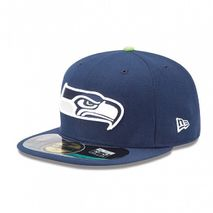 New Era NFL SEATTLE SEAHAWKS Authentic On Field 59FIFTY Game Cap