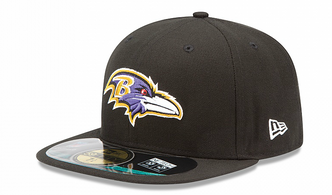 New Era NFL BALTIMORE RAVENS Authentic On Field 59FIFTY Game Cap – Bild 1