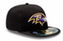 New Era NFL BALTIMORE RAVENS Authentic On Field 59FIFTY Game Cap – Bild 3