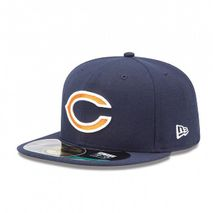 New Era NFL CHICAGO BEARS Authentic On Field 59FIFTY Game Cap