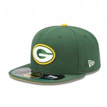 New Era NFL GREEN BAY PACKERS Authentic On Field 59FIFTY Game Cap