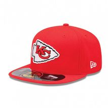 New Era NFL KANSAS CITY CHIEFS Authentic On Field 59FIFTY Game Cap