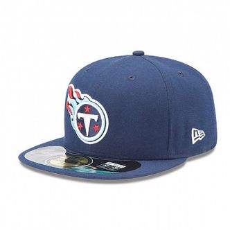 New Era NFL TENNESSEE TITANS Authentic On Field 59FIFTY Game Cap – Bild 1