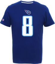 Majestic NFL MARCUS MARIOTA #8 - Tennessee Titans Player T-Shirt