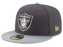 New Era NFL OAKLAND RAIDERS Gold On Field 59FIFTY Game Cap