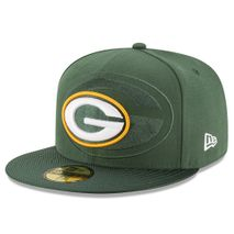 New Era NFL GREEN BAY PACKERS Authentic 2016 On Field 59FIFTY Game Cap