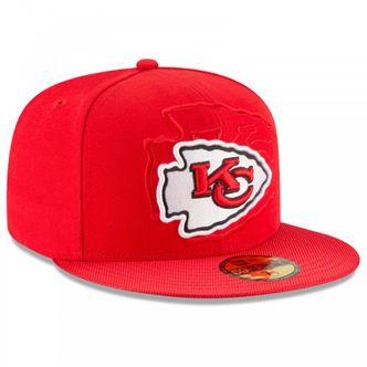 New Era NFL KANSAS CITY CHIEFS Authentic 2016 On Field 59FIFTY Game Cap – Bild 3