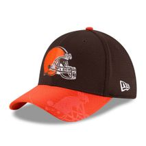 New Era NFL CLEVELAND BROWNS Authentic 2016 On Field Sideline 39THIRTY Game Cap