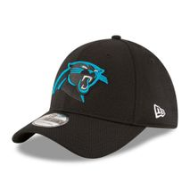 New Era NFL CAROLINA PANTHERS Authentic 2016 On Field Sideline Tech 39THIRTY Game Cap