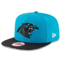 New Era NFL CAROLINA PANTHERS Authentic 2016 On Field Sideline 9FIFTY Snapback Game Cap