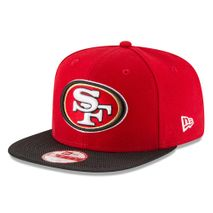 New Era NFL SAN FRANCISCO 49ers Authentic 2016 On Field Sideline 9FIFTY Snapback Game Cap