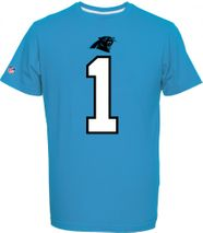 Majestic NFL CAM NEWTON #1 - CAROLINA PANTHERS Player T-Shirt