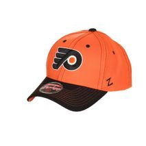 Zephyr NHL PHILADELPHIA FLYERS Staple Curved Snapback Cap