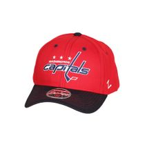 Zephyr NHL WASHINGTON CAPITALS Staple Curved Snapback Cap