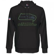 Majestic NFL SEATTLE SEAHAWKS Heathly Oth Pullover