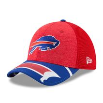 New Era NFL BUFFALO BILLS Authentic 39THIRTY Draft 2017 Stretch Fit Cap