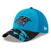 New Era NFL CAROLINA PANTHERS Authentic 39THIRTY Draft 2017 Stretch Fit Cap