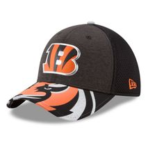New Era NFL CINCINNATI BENGALS Authentic 39THIRTY Draft 2017 Stretch Fit Cap