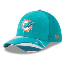 New Era NFL MIAMI DOLPHINS Authentic 39THIRTY Draft 2017 Stretch Fit Cap