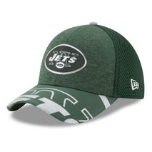 New Era NFL NEW YORK JETS Authentic 39THIRTY Draft 2017 Stretch Fit Cap