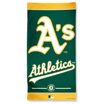 Wincraft MLB OAKLAND ATHLETICS Fiber Beach Towel