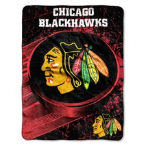 Northwest NHL CHICAGO BLACKHAWKS Ice Dash Decke