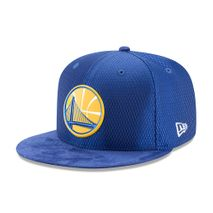New Era NBA GOLDEN STATE WARRIORS 2017 Authentic On-Court 9FIFTY Snapback Cap