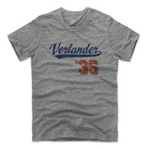 500 Level MLB DETROIT TIGERS - Justin Verlander SCRIPT Premium T-Shirt
