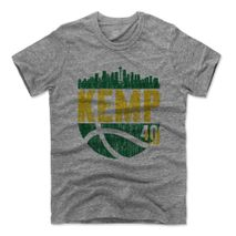 500 Level NBA SEATTLE SONICS - Shawn Kemp SKYBALL Premium T-Shirt