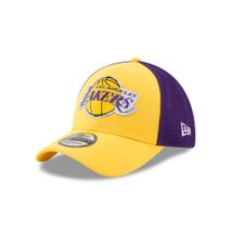 New Era NBA LOS ANGELES LAKERS 2017 Authentic On-Court 39THIRTY Stretch Fit Cap
